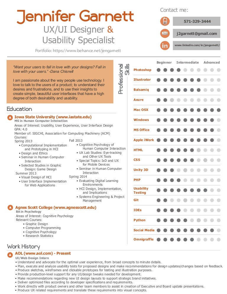 Childhood Specialist Resume Computer Weekly Average OT Resume