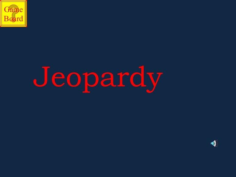 Jeopardy Christmas