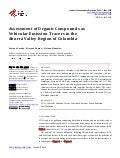 ASSESSMENT OF ORGANIC COMPOUNDS AS VEHICULAR EMISSION TRACERS IN THE ABURRA VALLEY REGION OF COLOMBIA