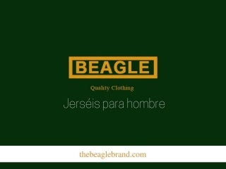 The Beagle Brand: jerséis para hombre