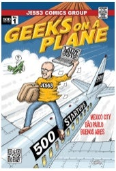 Geeks on a Plane Zine by JESS3 - Latin America 2012