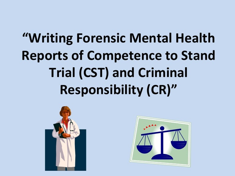 Jessica Worthy Forensic Report Powerpoint