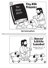 Coloring Book: Jesus' Little Lambs