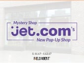 Mystery Shop: Jet.com's New Pop-Up Shop