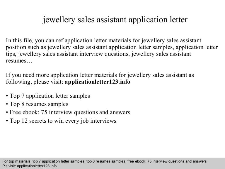 SlideShare  Jewelry Sales Resume