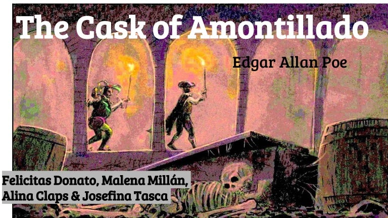 the question of montressors sanity in the short story the cask of amontillado He informs the audience of his intentions before he begins the story  sanity, in the cask of amontillado  question and answer section for poe's short.
