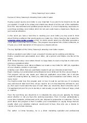 jimmy sweeney cover letters. Resume Example. Resume CV Cover Letter