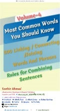 Most common words you should know volume 04 linking and joining words and phrases