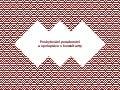 Poskytování poradenství a spolupráce s konzultanty — Na volné noze 2016