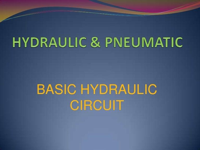 Simple Hydraulic Circuit Symbols Data Wiring Diagrams