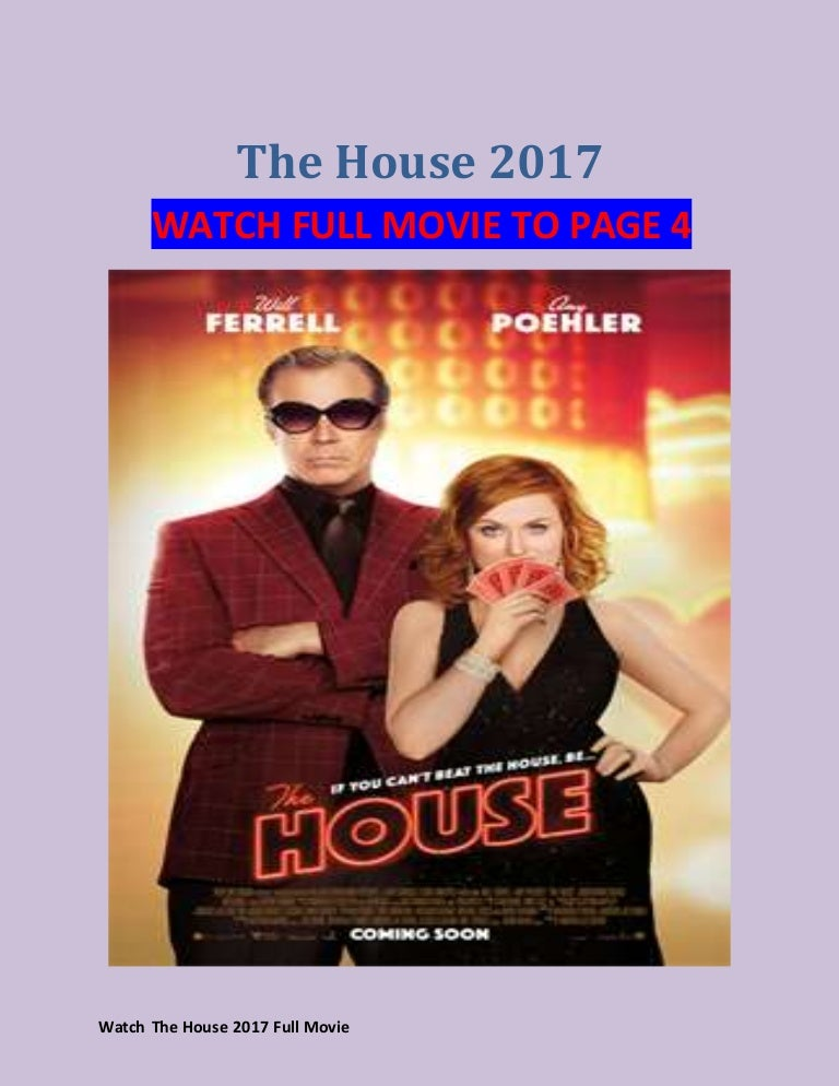 the house 2017 full movie free online