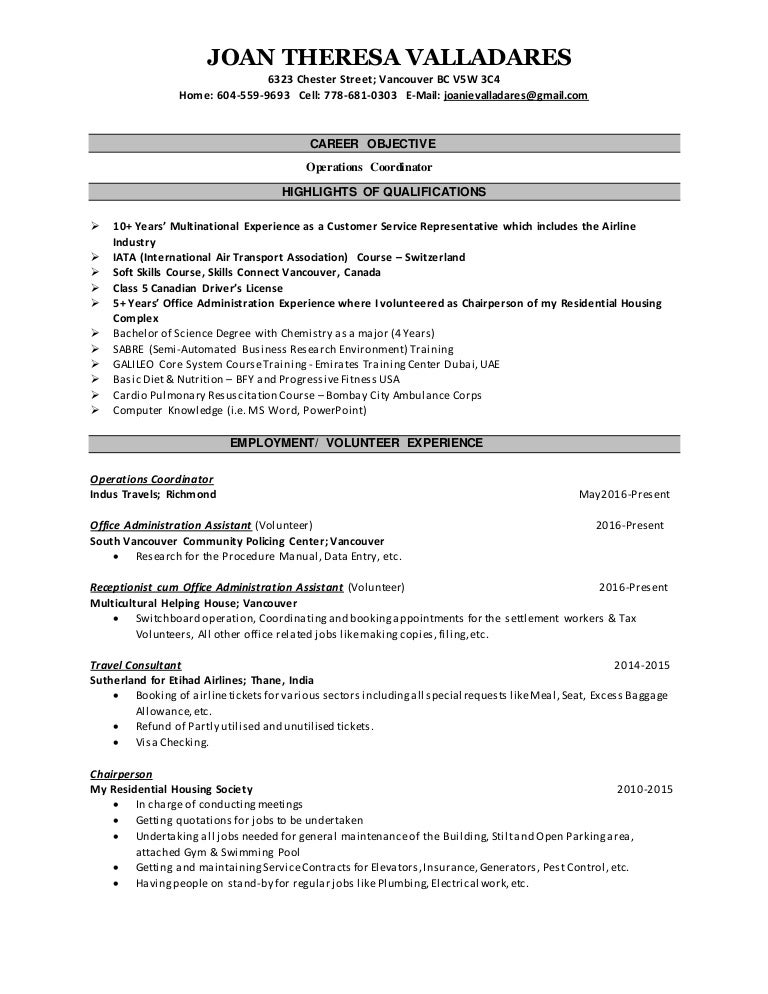 Resume writing   MyJobOption
