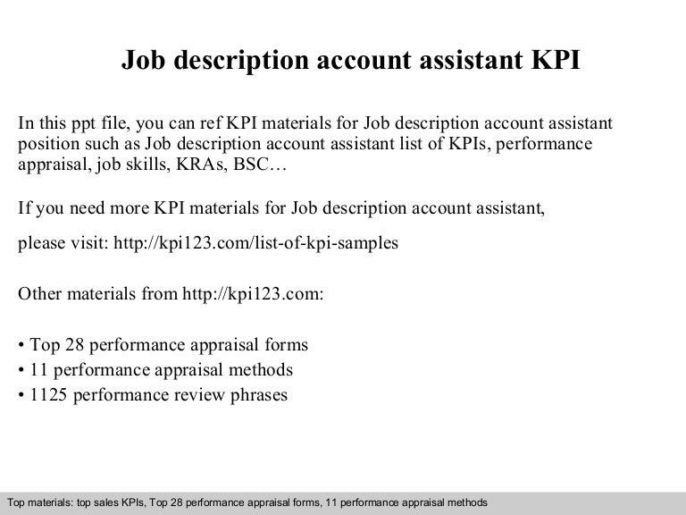description of an accountant
