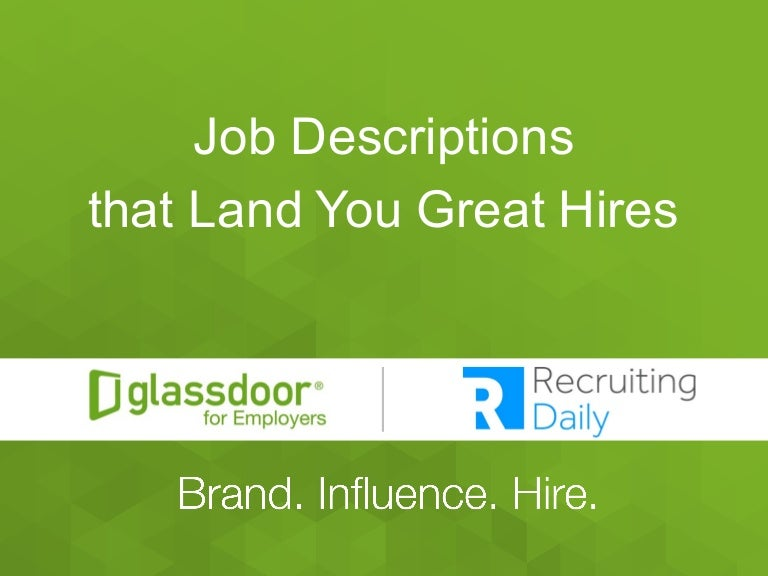 job descriptions that land you great hires. Resume Example. Resume CV Cover Letter