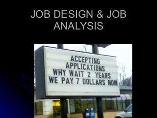 Job Analysis Hrm Doc Scribd