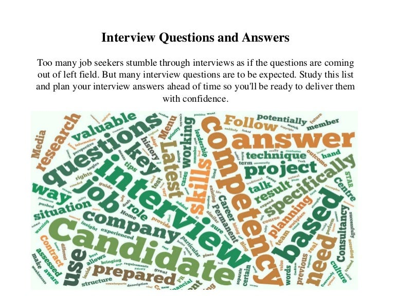 job interview questions and answers sample - Sample Nursing Interview Questions And Answers