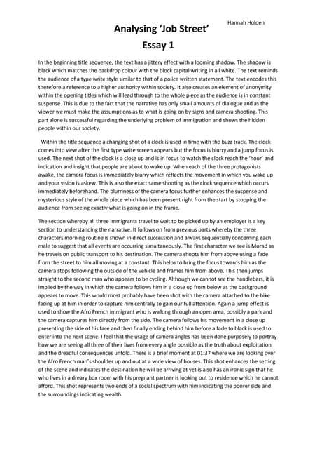Essay for nato