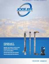 Jogler Industrial Level Measurement Products Catalog