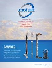 Jogler Liquid Level Gauges, Indicators and Transmitters