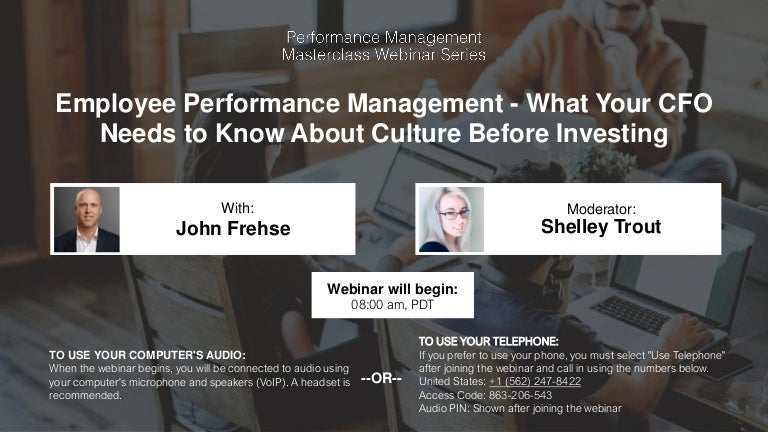 Employee Performance Management What Your Cfo Needs To Know About C