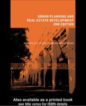 Ratcliffe,j (1996) Urban Planning and Real Estate Development
