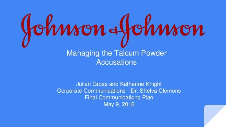 crisis management johnson and johnson In october 1982, johnson & johnson was confronted with a major crisis when seven deaths were attributed to poisoned tylenol the case reviews the facts as known a week after the incident occurred, and raises a wide range of questions regarding consumer behavior, corporate responsibility, and.