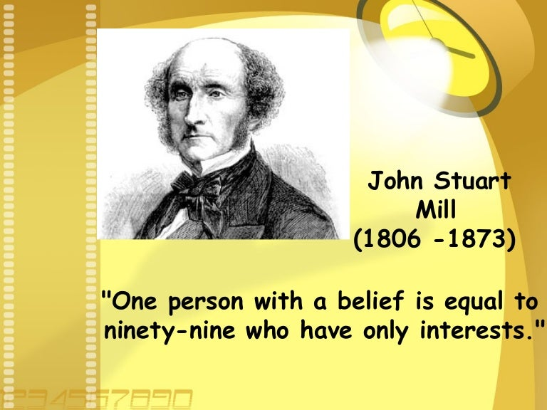 John Stuart Mill: His Life and Work...