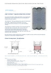 Joint Systems Facade Expansion Joint specs