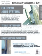 Joint Systems Repair Expansion Joints