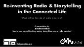 Jonathan belisle   Connected life& the Radio of tommorow