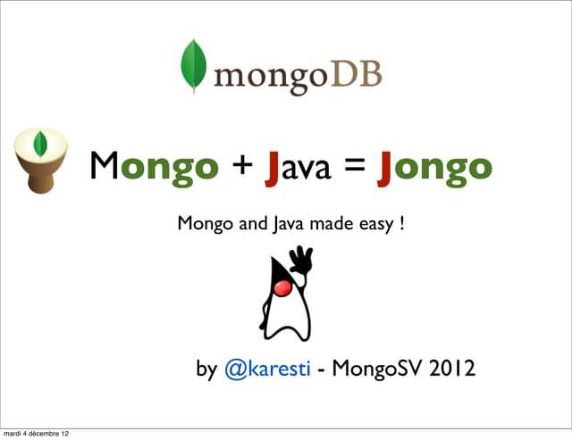 Jongo mongo sv