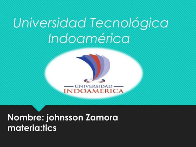 universidad tecnologica indcaoameri