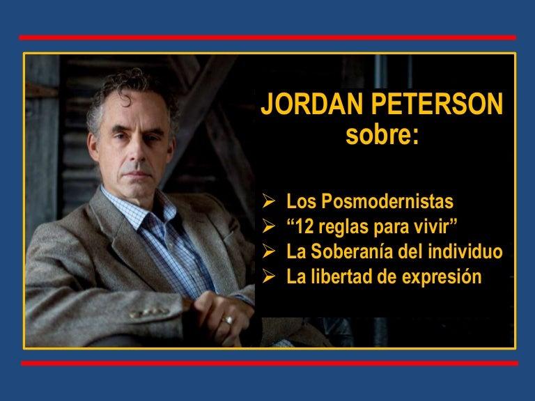 medallista Compatible con Plano  LOS POSMODERNISTAS por Jordan Peterson