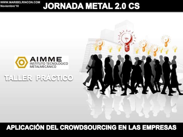 Jornada crowdsourcing