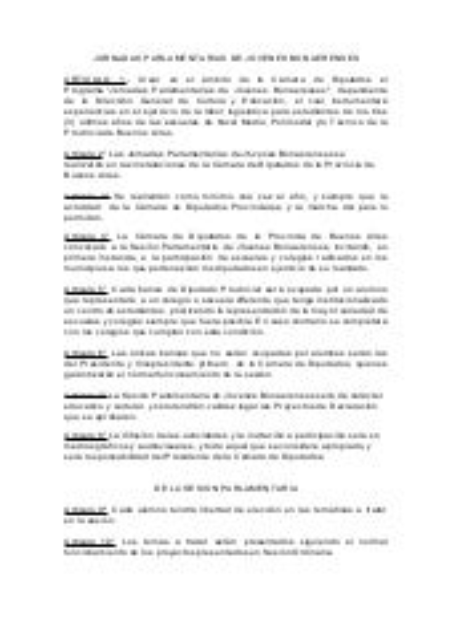 Jornadas parlamentarias de jóvenes bonarenses