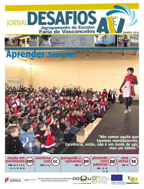 Jornal desafios aefv jan_2013