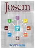 JOSCM - Journal of Operations and Supply Chain Management – Vol. 10, n. 1 - Jan/Jun 2017