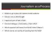 Journalism as a Process