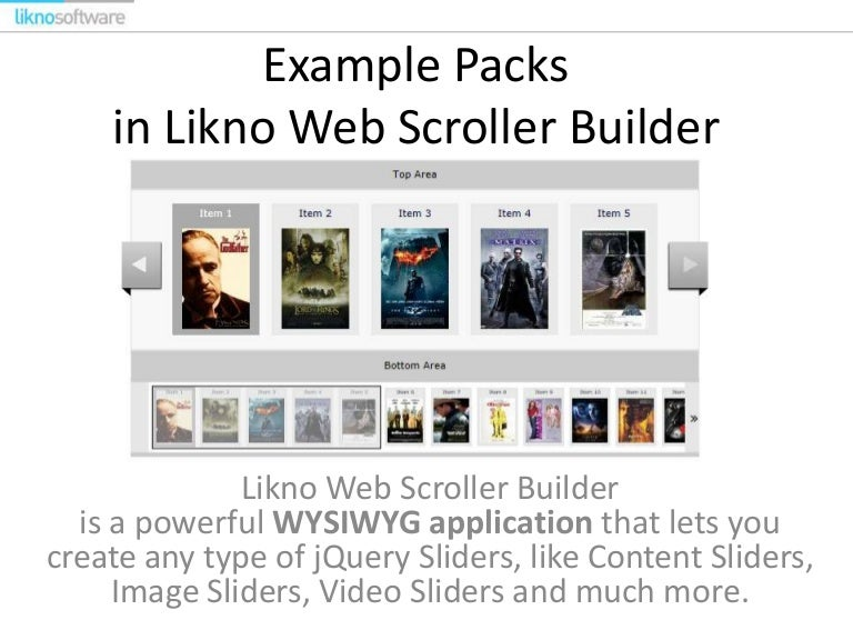 Jquery Sliders Example Packs For Likno Web Scroller Builder