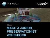 6 Ways to Make a Fun and Interactive Junior Preservationist Workbook