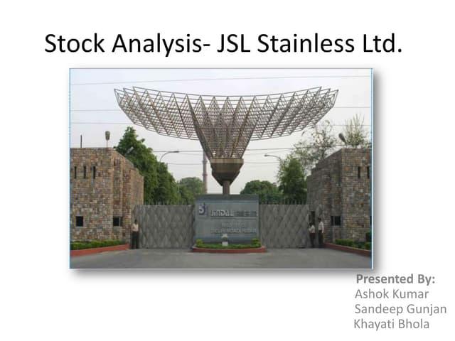 Jindal stainless ltd: Jsl stainless analysis