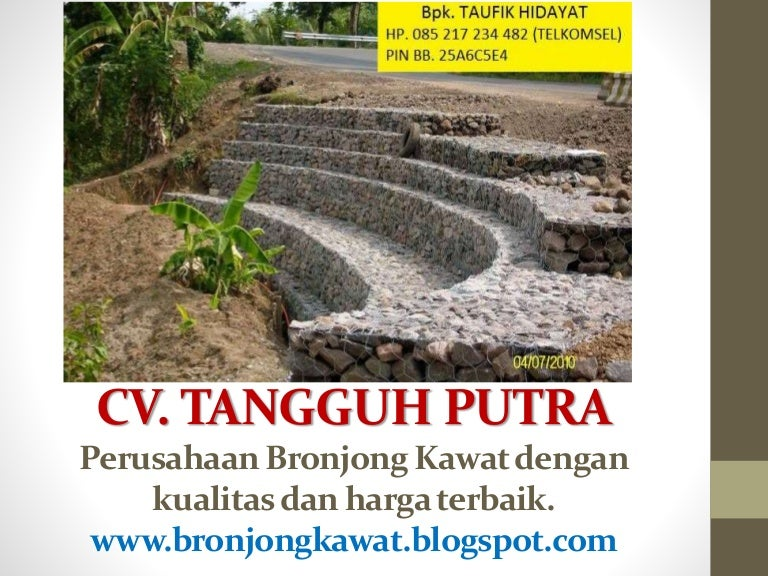 Harga Jual Kawat Bronjong Tanjung Pinang 2017, Agen 085 ...