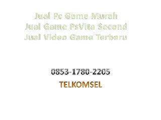 Jual Pc Gaming Game Ps 3 WA 0853-1780-2205 Bpk Ammar