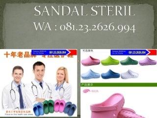 Jual sepatu bedah, jual sepatu ruang operasi, sepatu selop karet, wa 081.23.2626.994