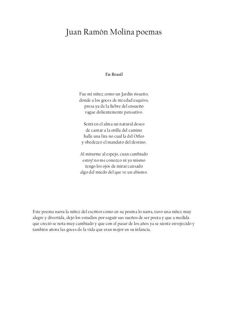 Juan ram n molina poemas for Buscador de poemas