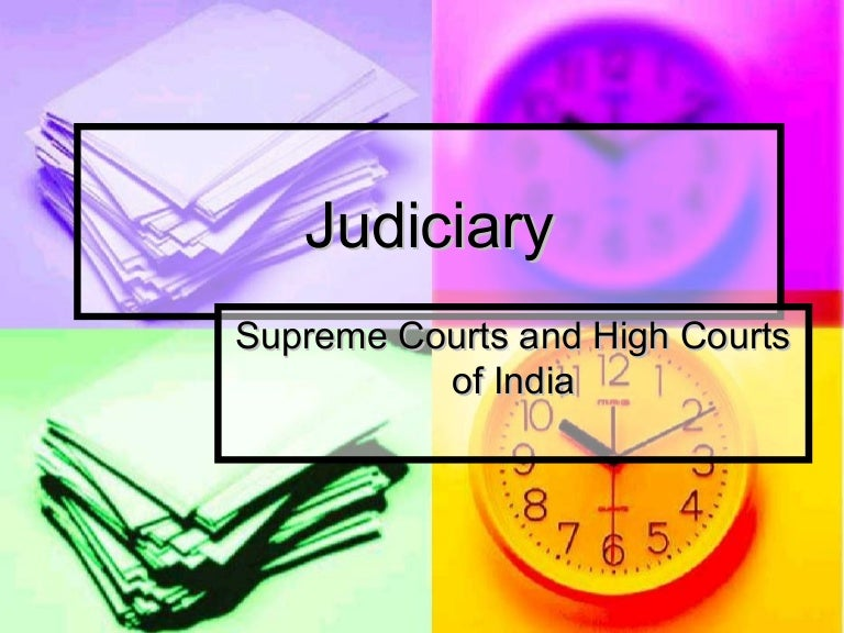 independence of judiciary in india