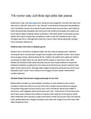 Judi online (7 livebet)