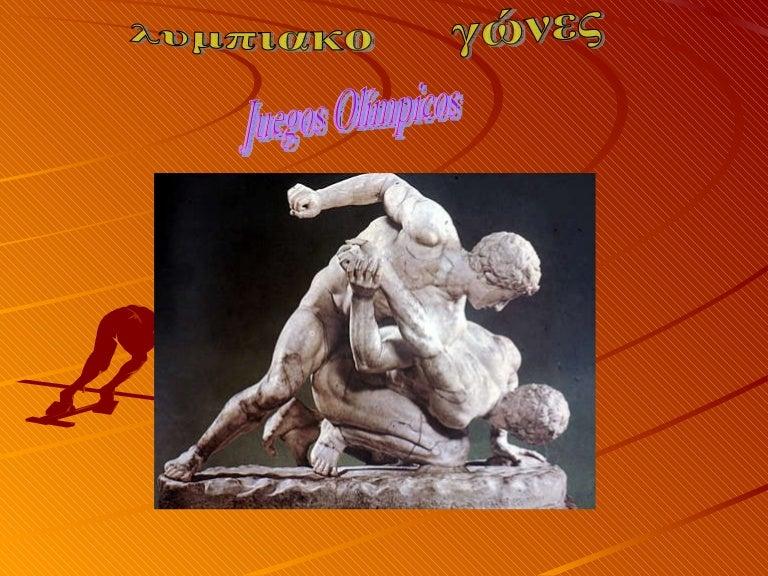 Juegos Olimpicos En La Antigua Grecia