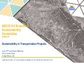 ASCE OC Sustainability in Transportation Presentation Part 1