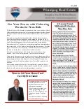 Real Estate Newsletter for July 2015 - Winnipeg
